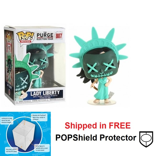Funko POP Movies The Purge Lady Liberty Figure - #807