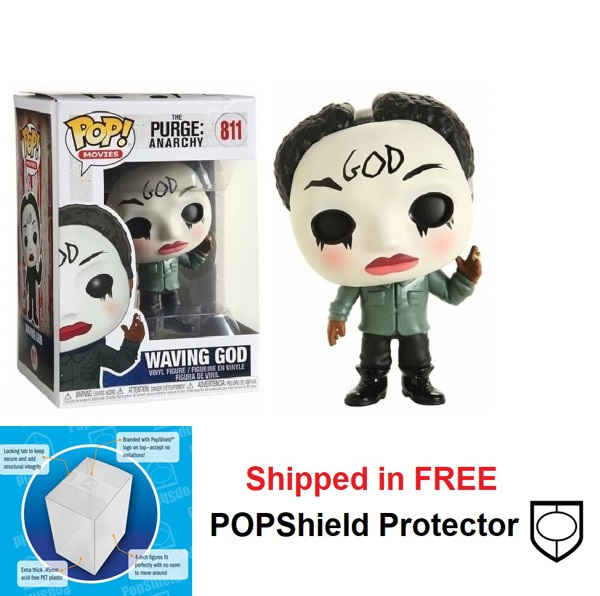 Funko POP Movies The Purge Waving God Figure - #811