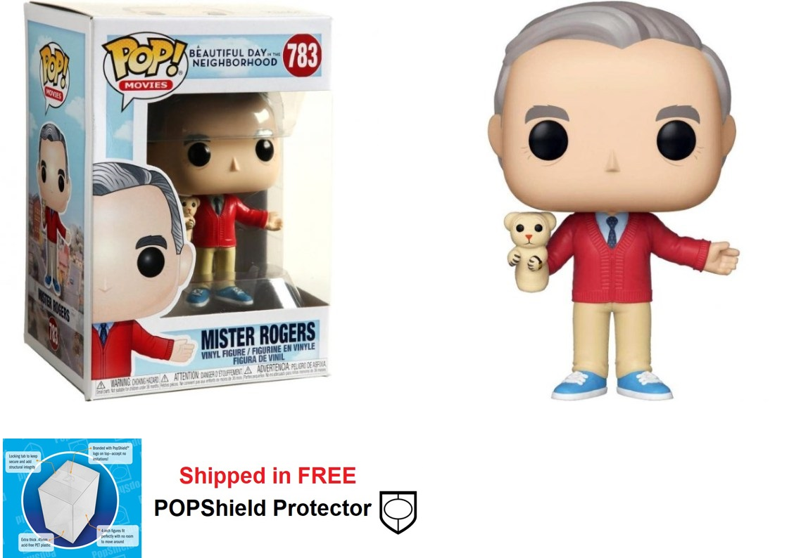 Funko POP Movies A Beautiful Day in Neighborhood Mr. Rogers #783