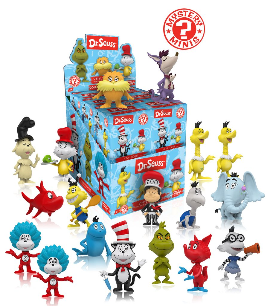 Funko Dr. Seuss Mystery Minis Case of 12