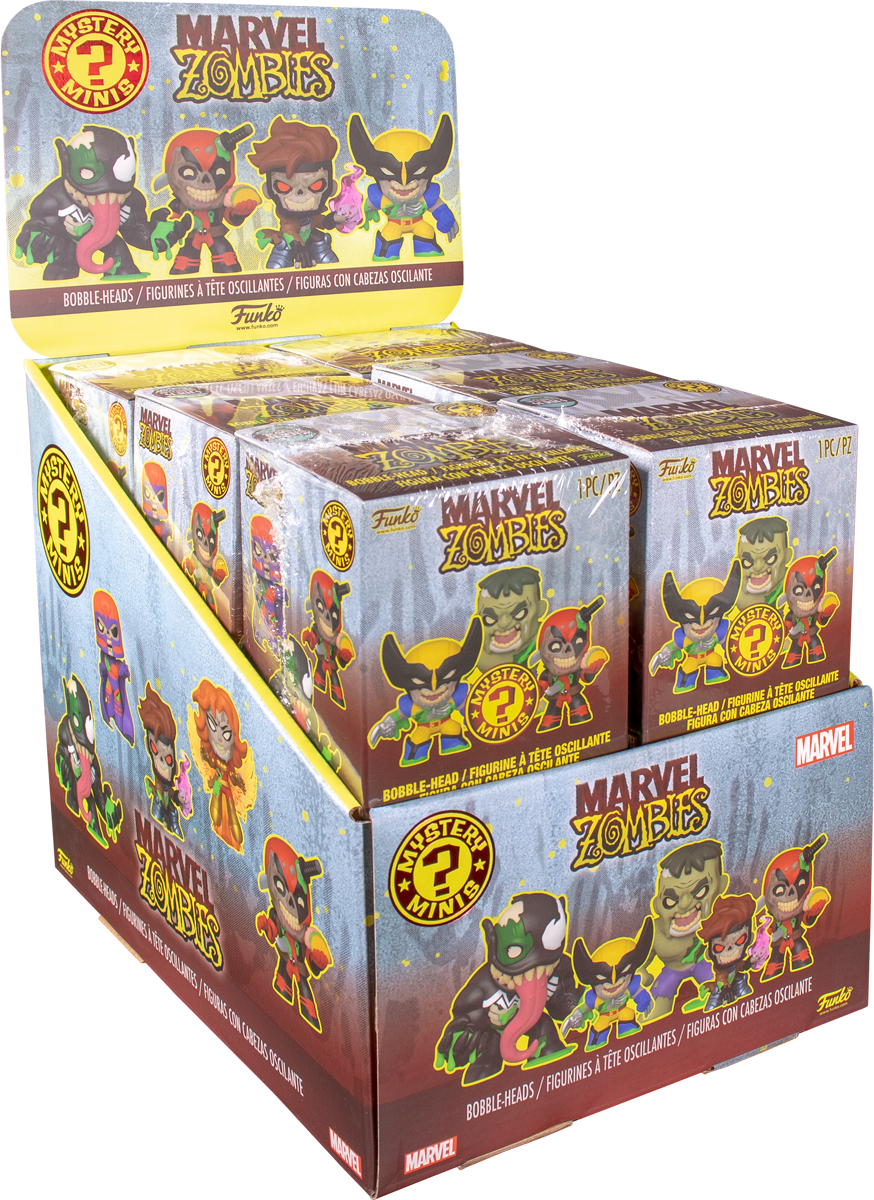 Funko Marvel Zombies Specialty Series Mystery Minis Case of 12