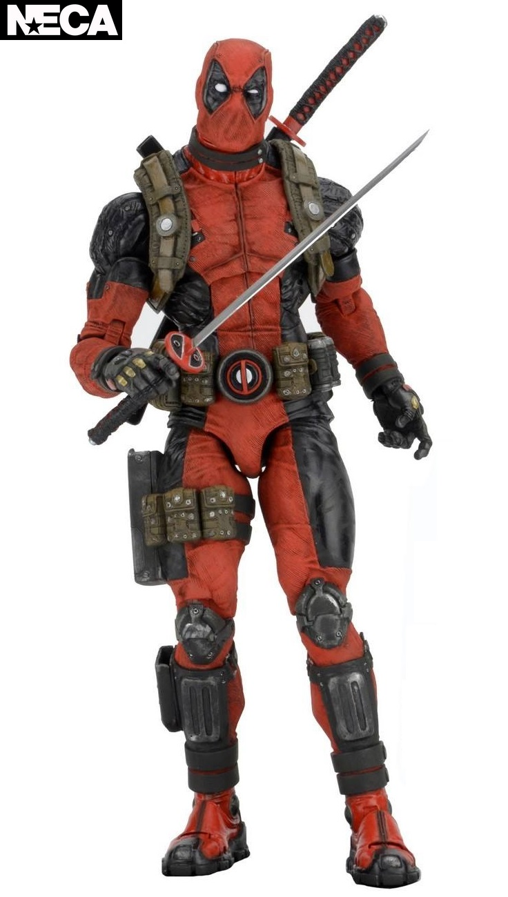 NECA Marvel Deadpool Quarter Scale Figure