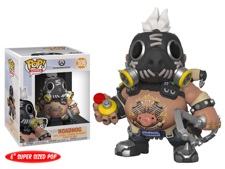 Funko POP Games Overwatch Roadhog Figure - #309