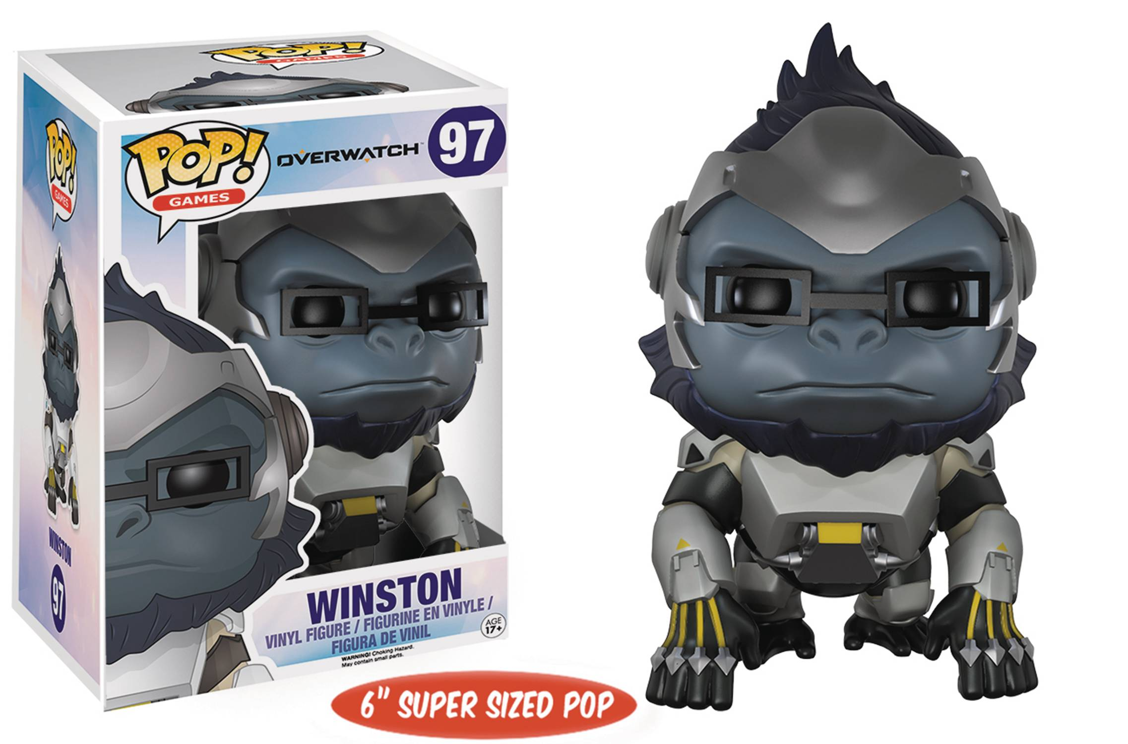 Funko POP Games Overwatch Winston Figure - #97