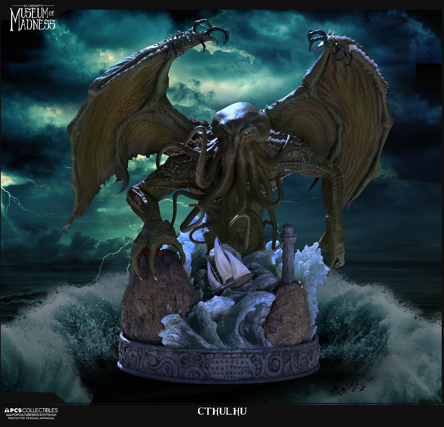 Pre-Order Pop Culture Shock Cthulhu Statue
