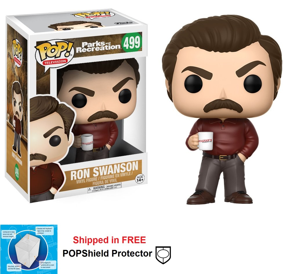 Funko POP TV Parks & Recreation Ron Swanson - #499