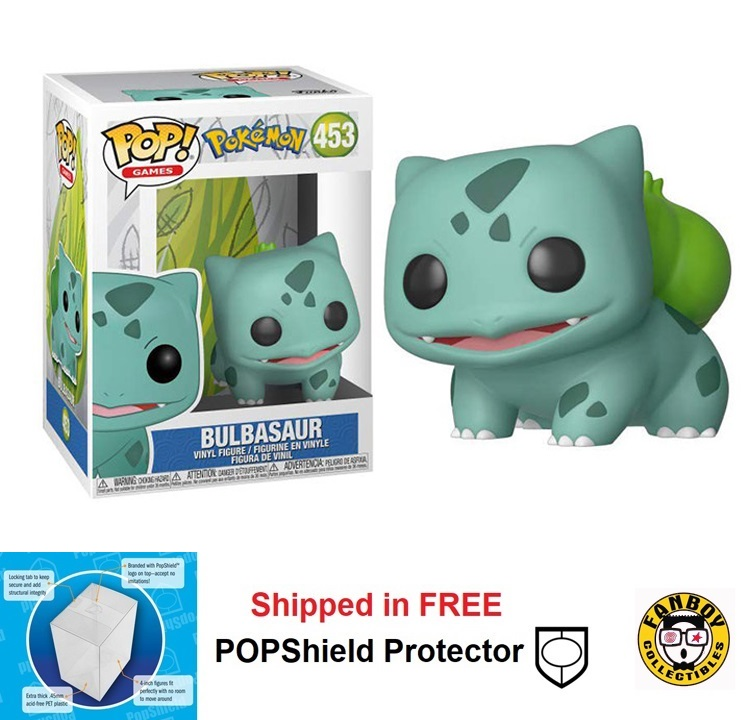 Funko POP Games Pokemon Bulbasaur - #453