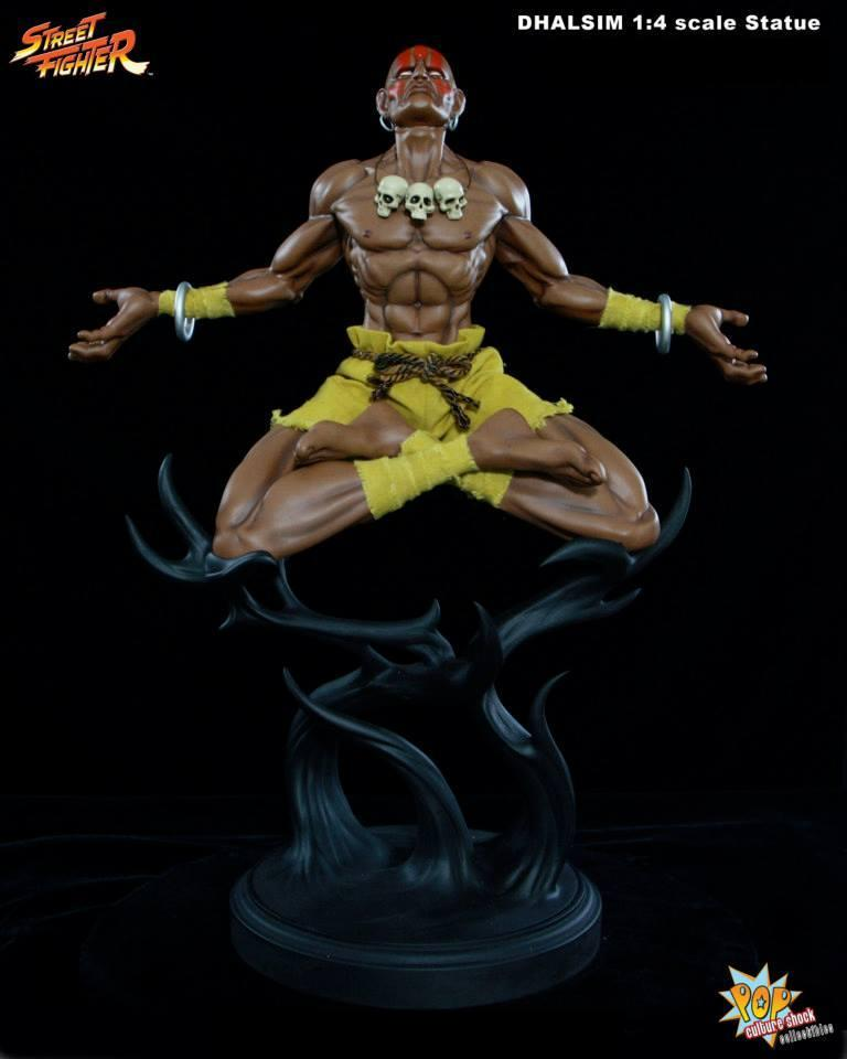 Pop Culture Shock Street Fighter Dhalsim 1:4 Scale Statue