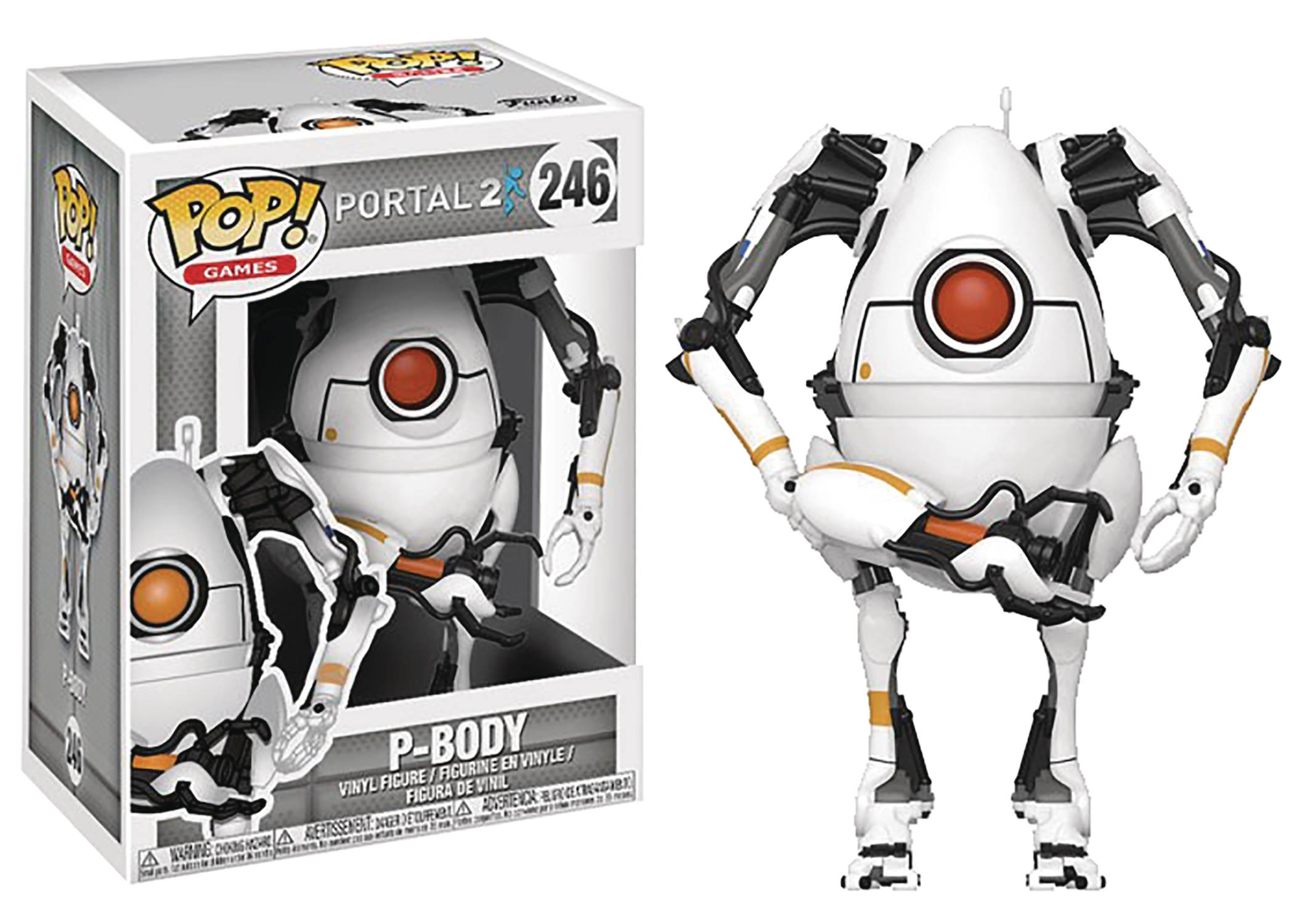 Funko POP Games Portal P-Body Figure - #246
