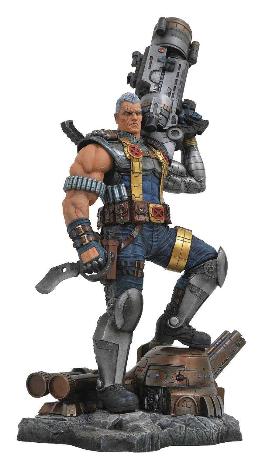 Diamond Marvel Premier Collection Cable Statue