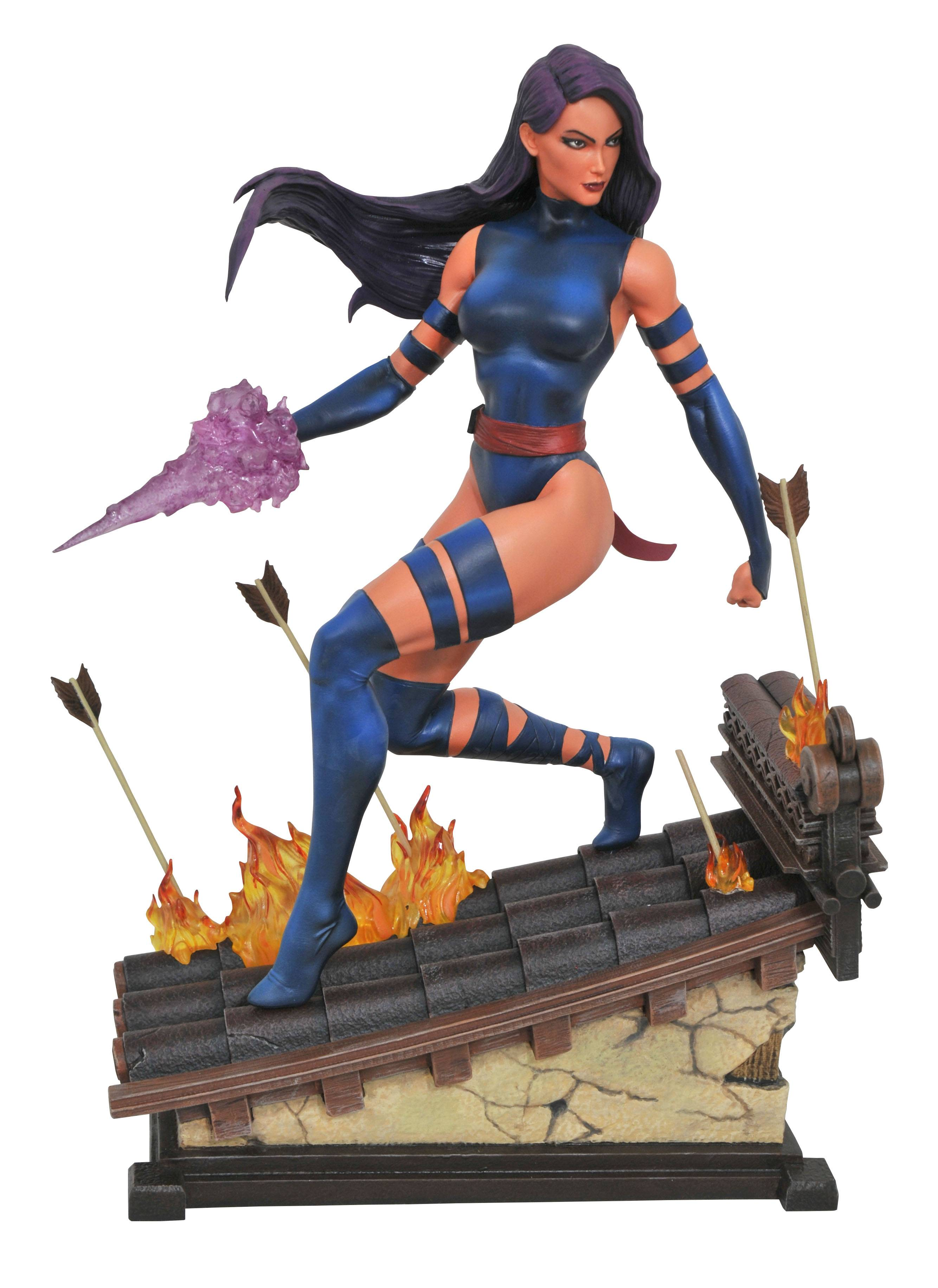 Diamond Marvel Premier Collection Psylocke Statue