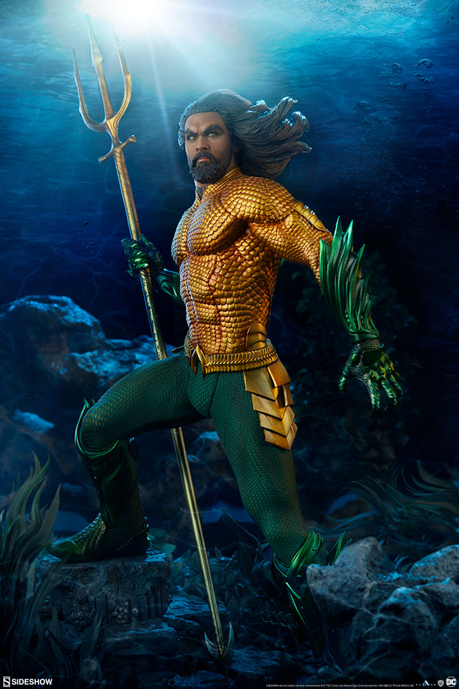 Pre-Order Sideshow DC Comics Aquaman Movie Premium Format