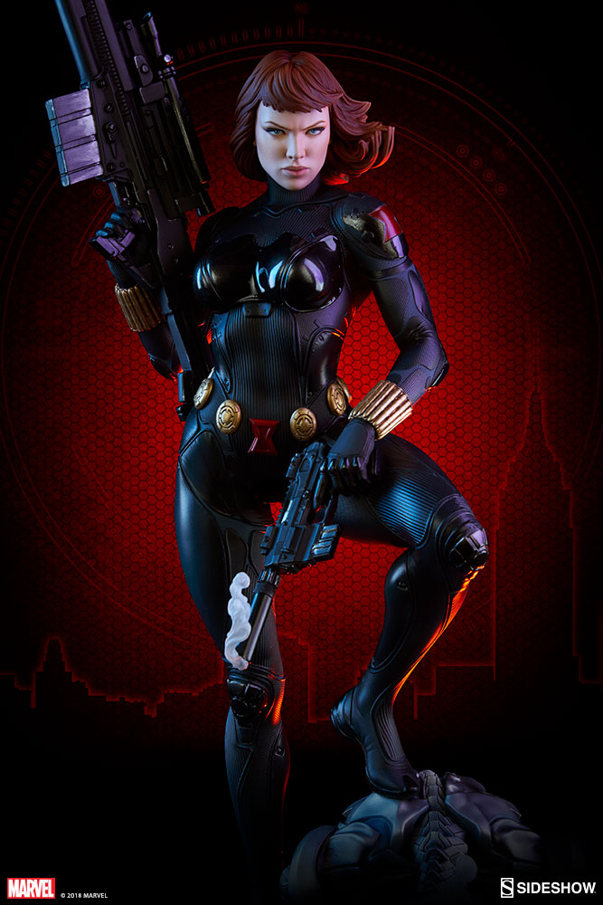 Sideshow Marvel Black Widow Premium Format