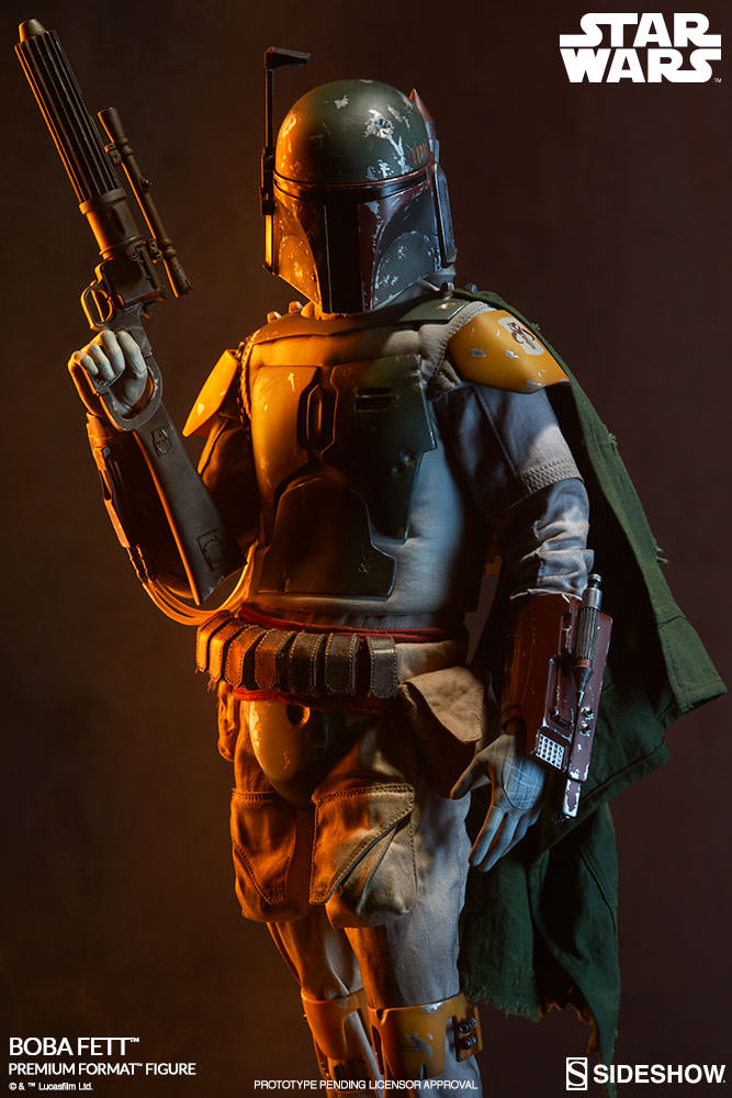 Sideshow Star Wars Boba Fett Return of the Jedi Premium Format