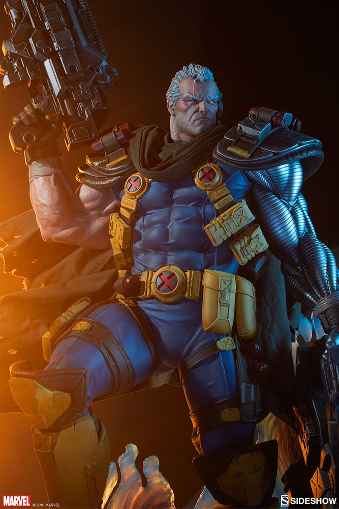 Pre-Order Sideshow Marvel Cable Premium Format