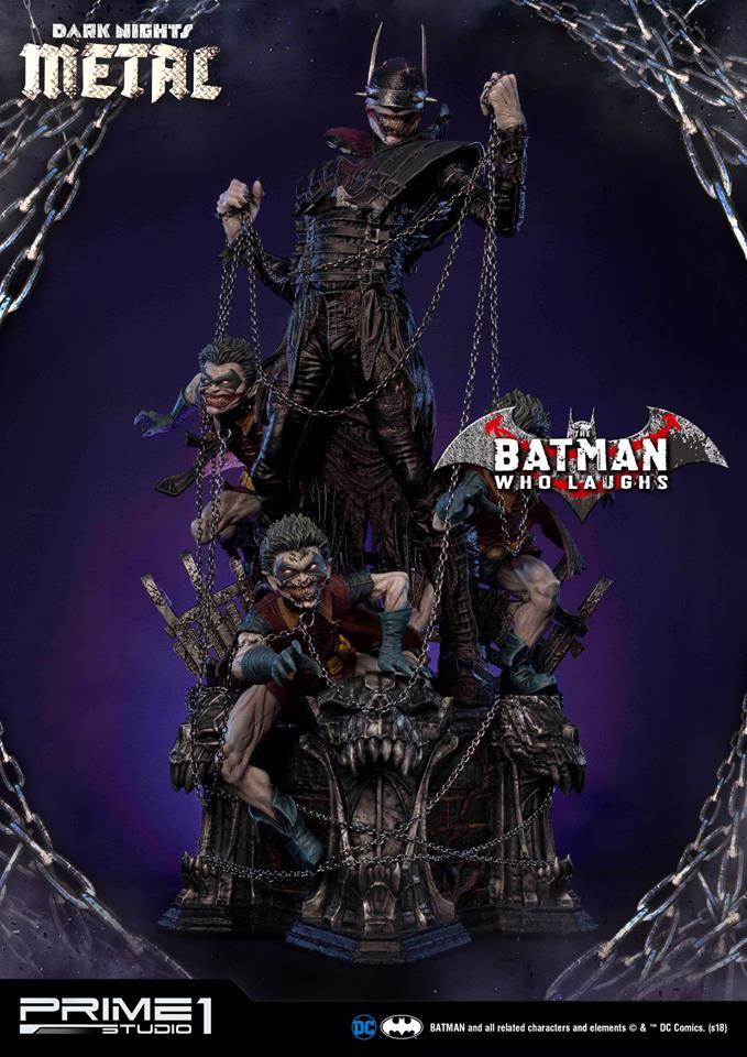 Pre-Order Prime 1 DC Comics Batman Who Laughs Statue