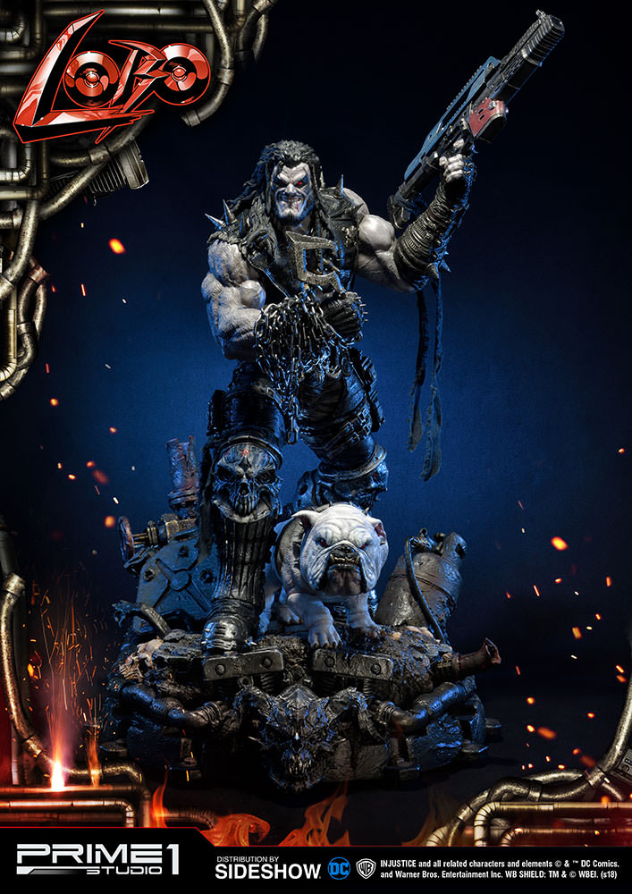 Pre-Order Prime 1 DC Comics Lobo Injustice Exclusive Statue