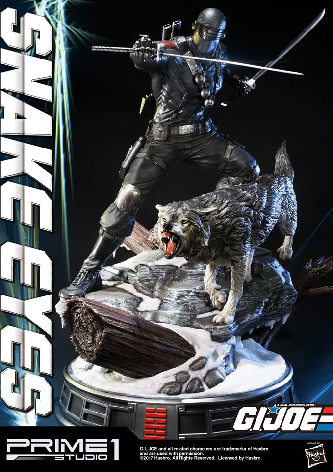 Prime 1 GI Joe Snake Eyes Statue