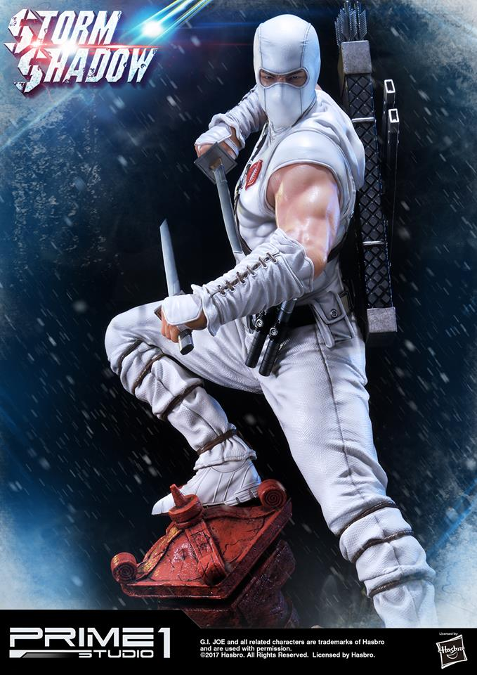 Prime 1 GI Joe Storm Shadow Statue