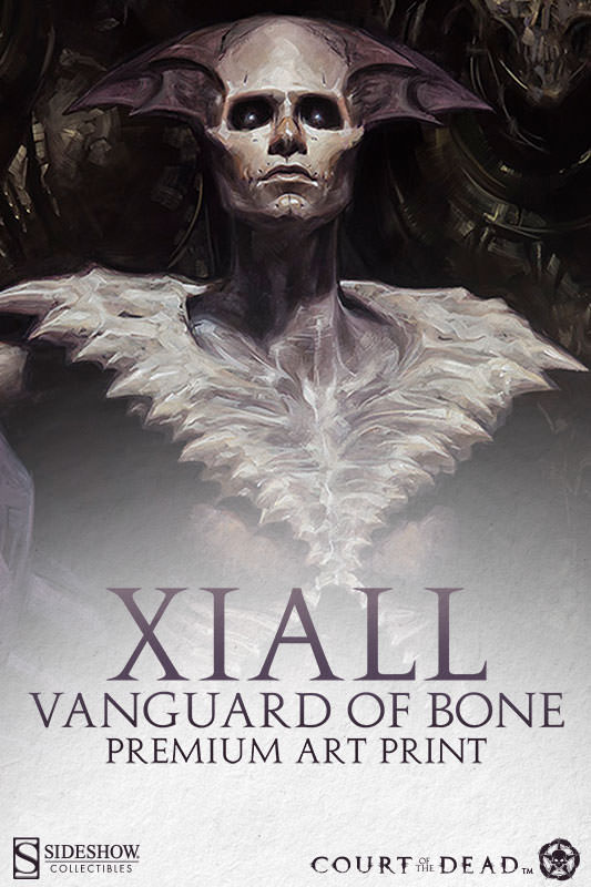 Sideshow Xiall: Vanguard of Bone Court of the Dead Print