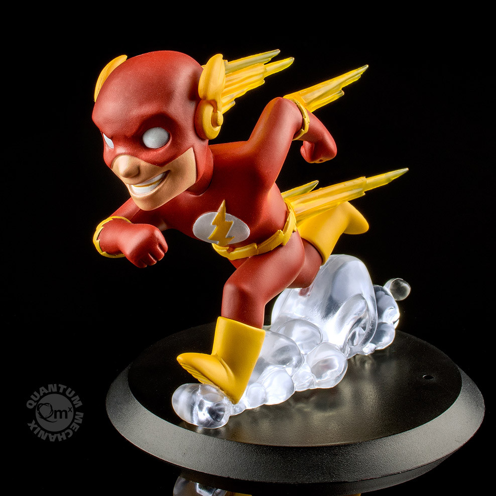 Quantum Mechanix DC Comics Flash Q-Fig Figure
