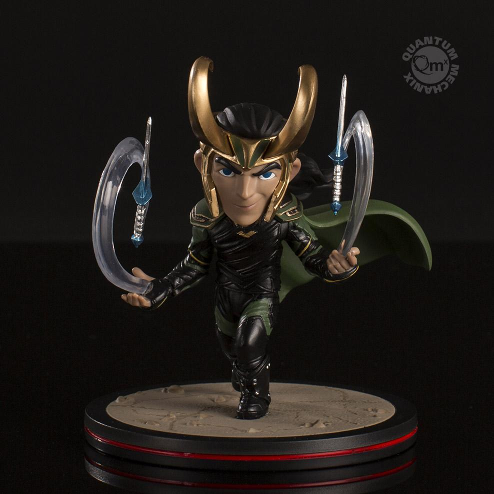 Quantum Mechanix Marvel Thor Ragnarok Loki Q-Fig Figure