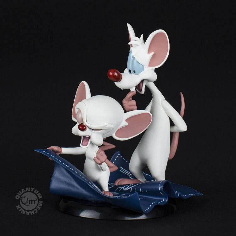 Quantum Mechanix Warner Bros Pinky and the Brain Q-Fig