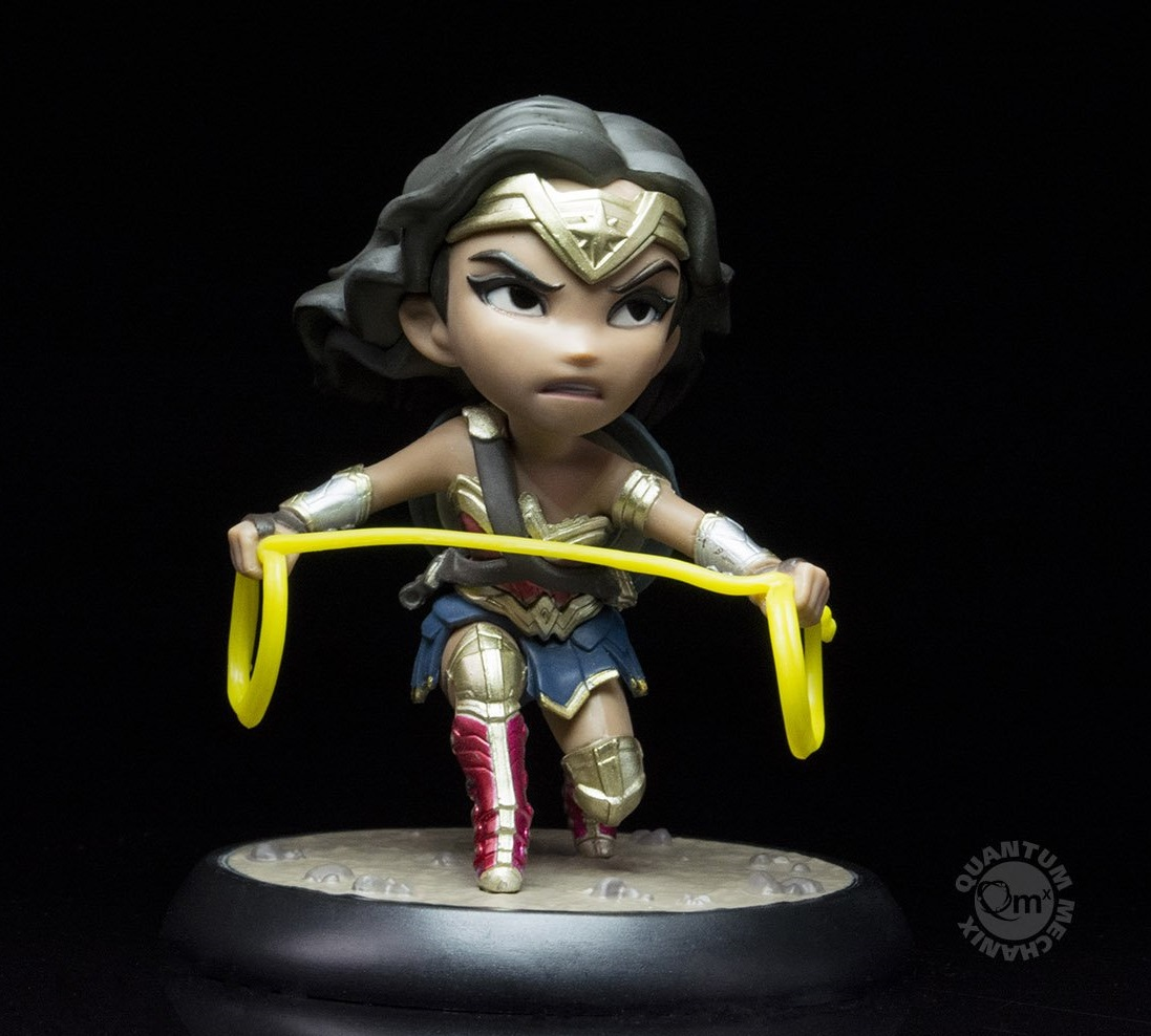 Quantum Mechanix DC Comics Wonder Woman Justice League Q-Fig