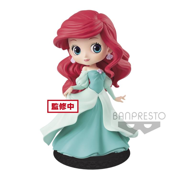Banpresto Disney Ariel Green Dress Q-Posket Figure