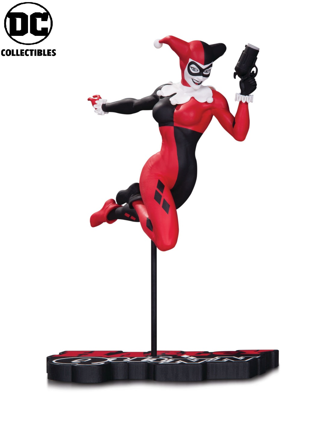 DC Comics Red White Black Harley Quinn Terry Dodson Statue