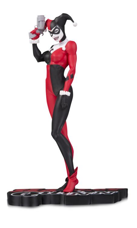 DC Comics Red White Black Harley Quinn Michael Turner Statue
