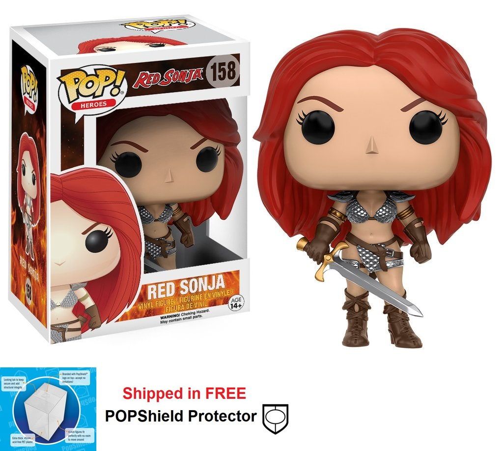 Funko POP Heroes Red Sonja Figure - #158
