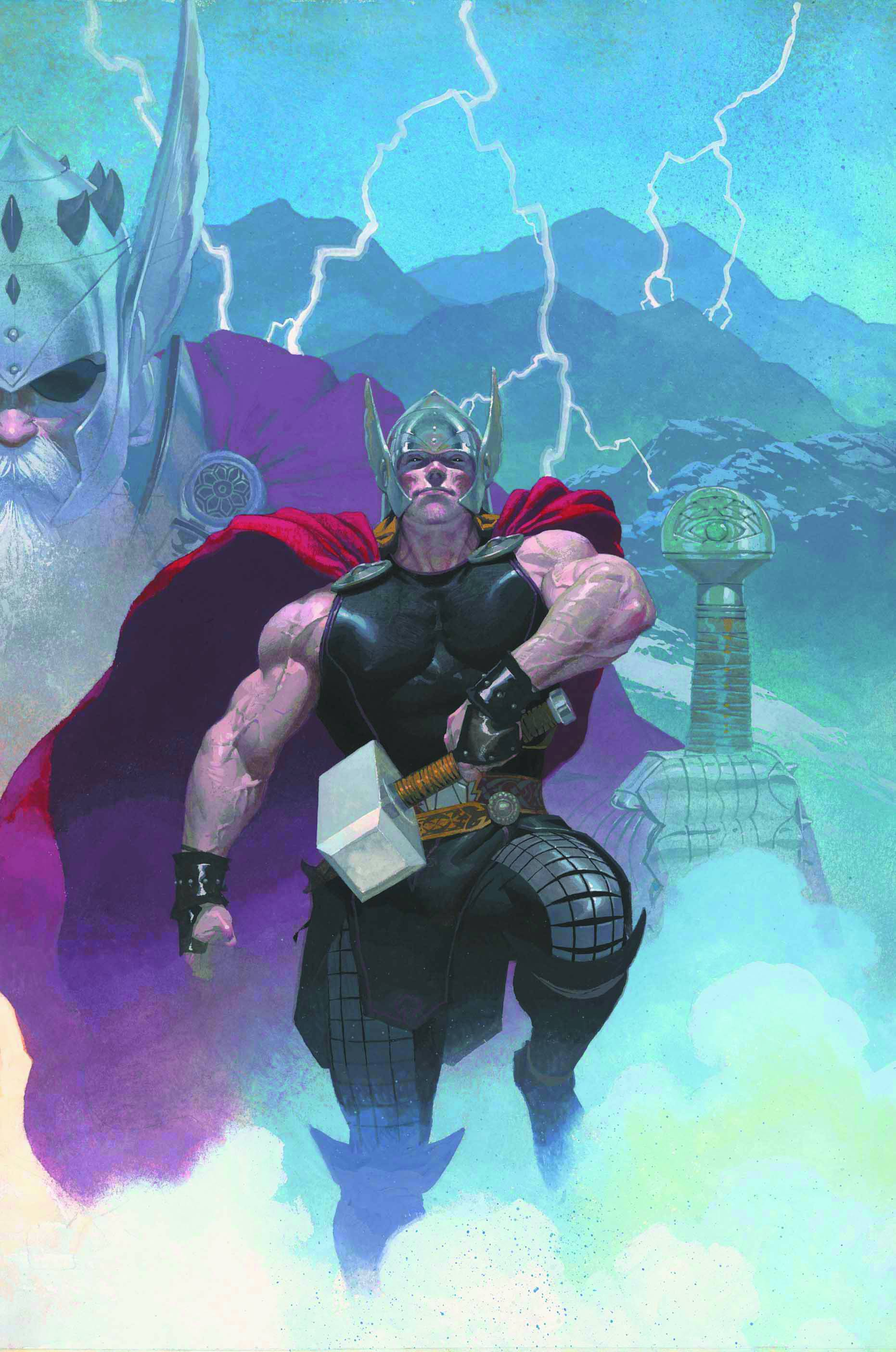 Marvel Thor: God of Thunder Esad Ribic Poster