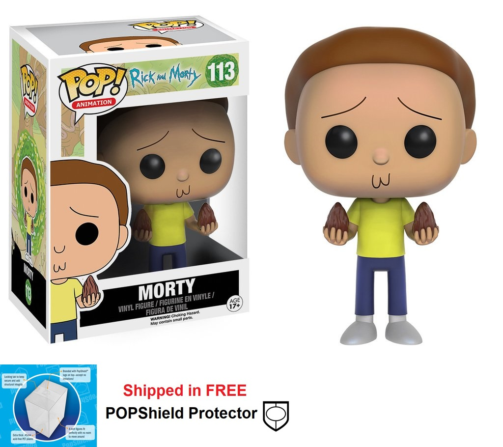 Funko POP Animation Rick and Morty Morty Figure #113
