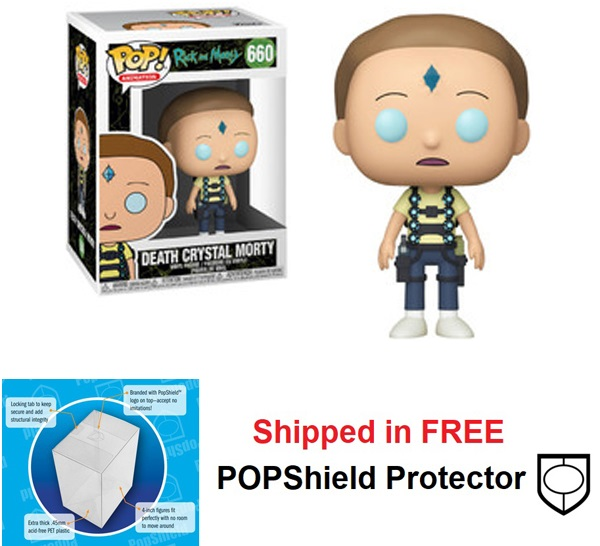 Funko POP Animation Rick and Morty Death Crystal Morty - #660