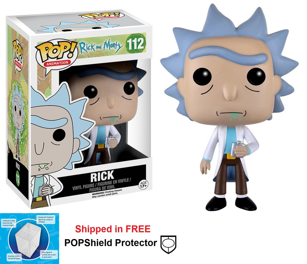Funko POP Animation Rick and Morty Rick Figure - #112