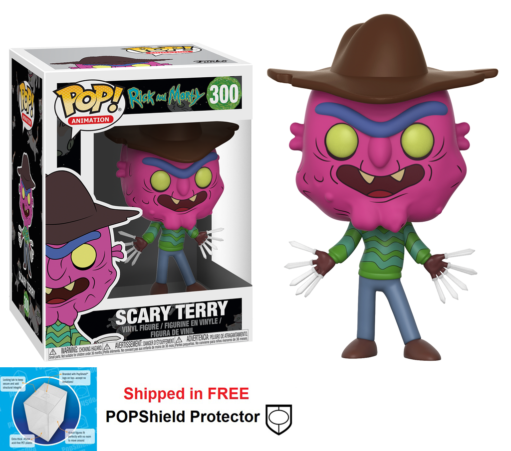 Funko POP TV Rick and Morty Scary Terry Figure - #300