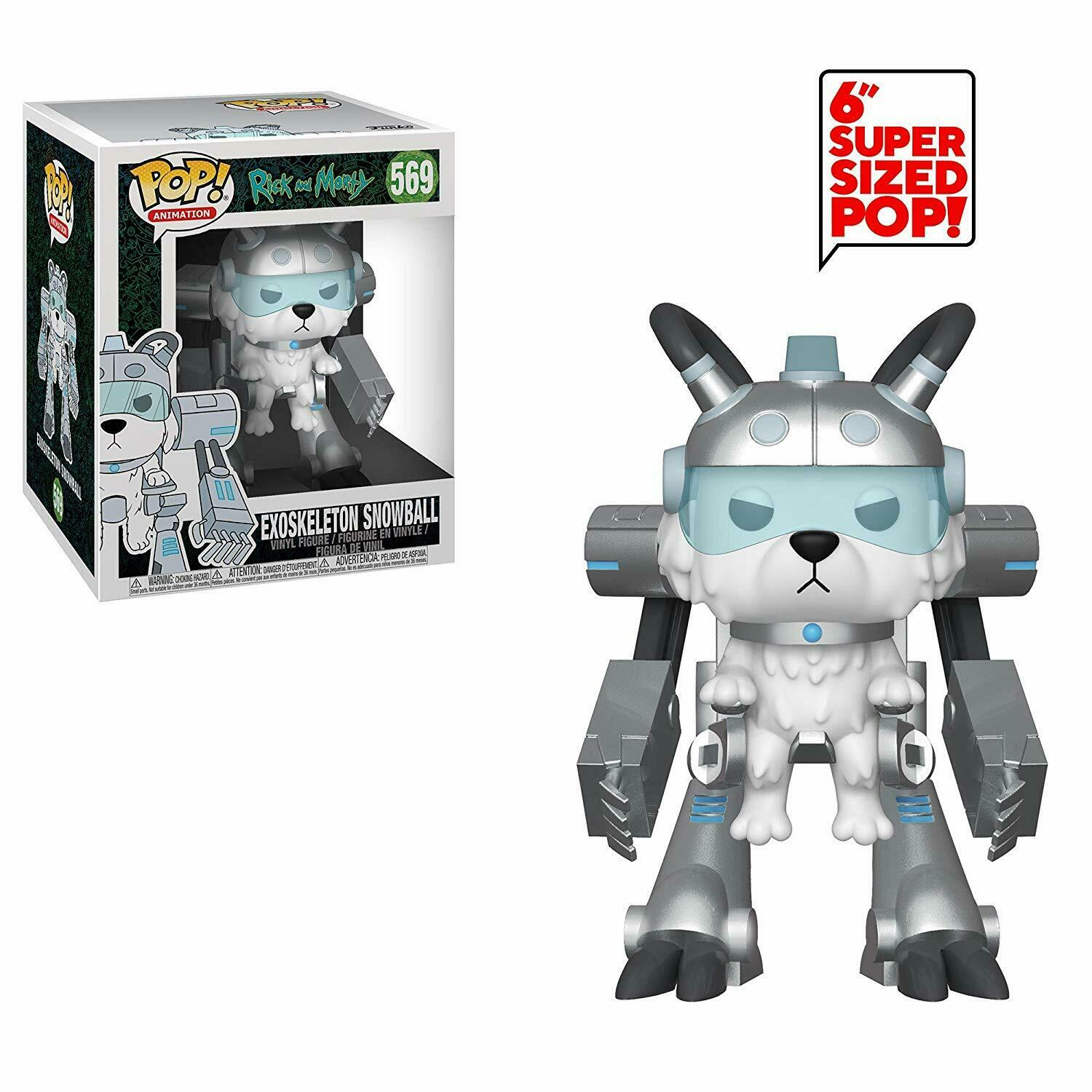 Funko POP Animation Rick and Morty Endoskeleton Snowball - #569