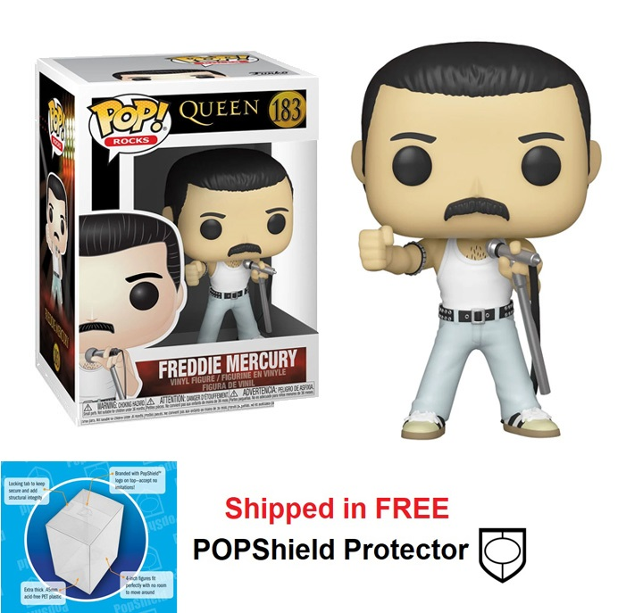 Funko POP Rocks Queen Freddie Mercury Radio Gaga Figure - #183
