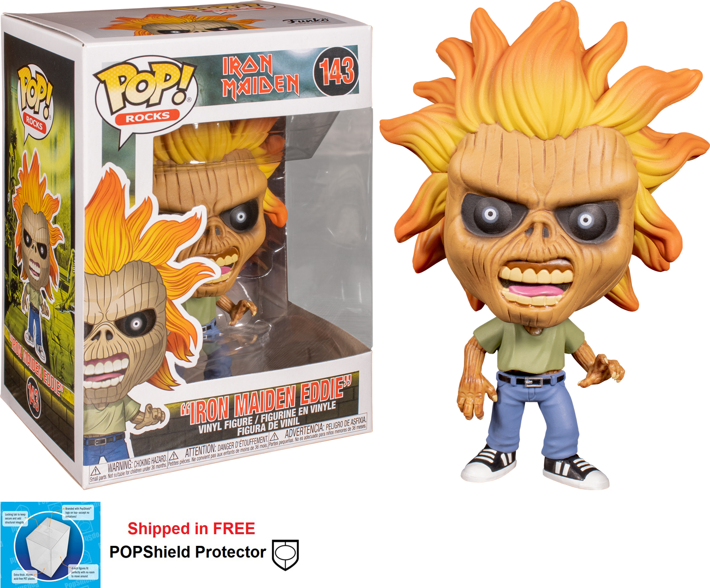 Funko POP Rocks Iron Maiden Eddie - #143