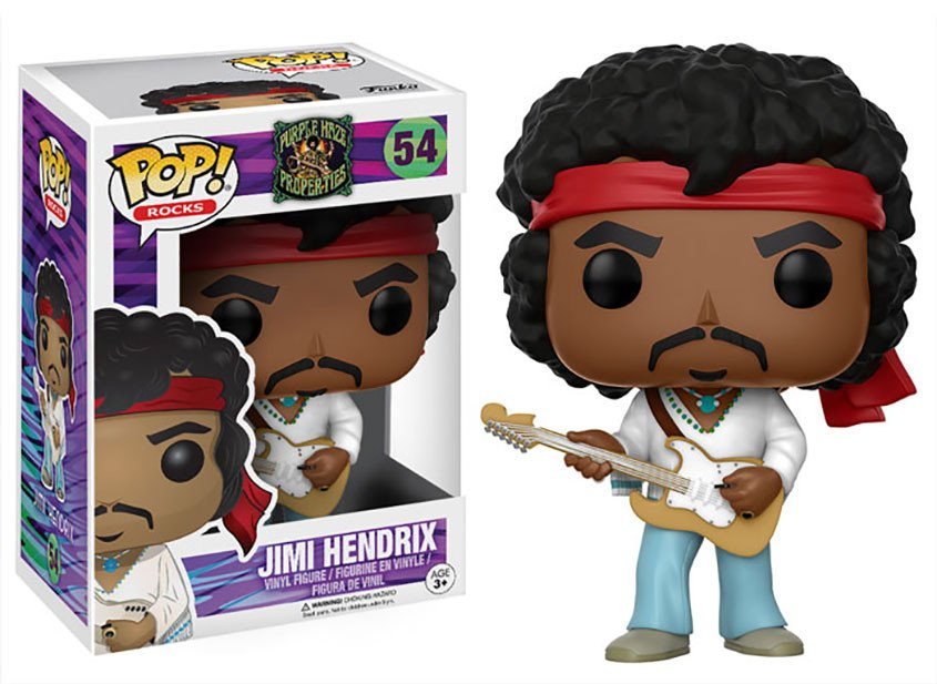 Funko POP Rocks Jimi Hendrix Figure - #54