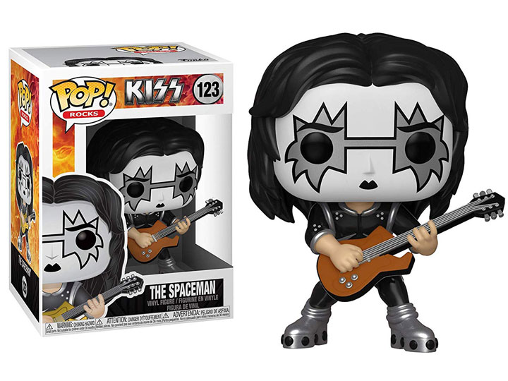 Funko POP Rocks KISS Spaceman - #123