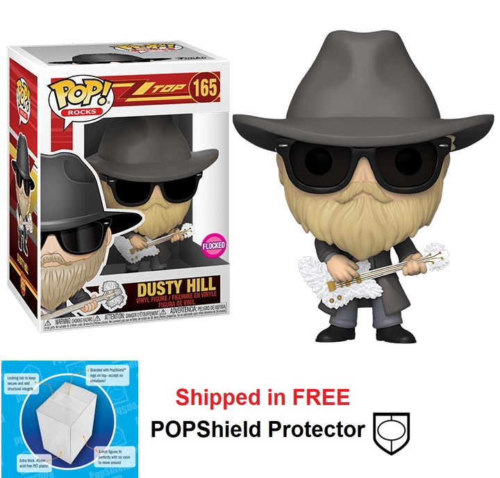 Funko POP Rocks ZZ Top Dusty Hill Figure - #165