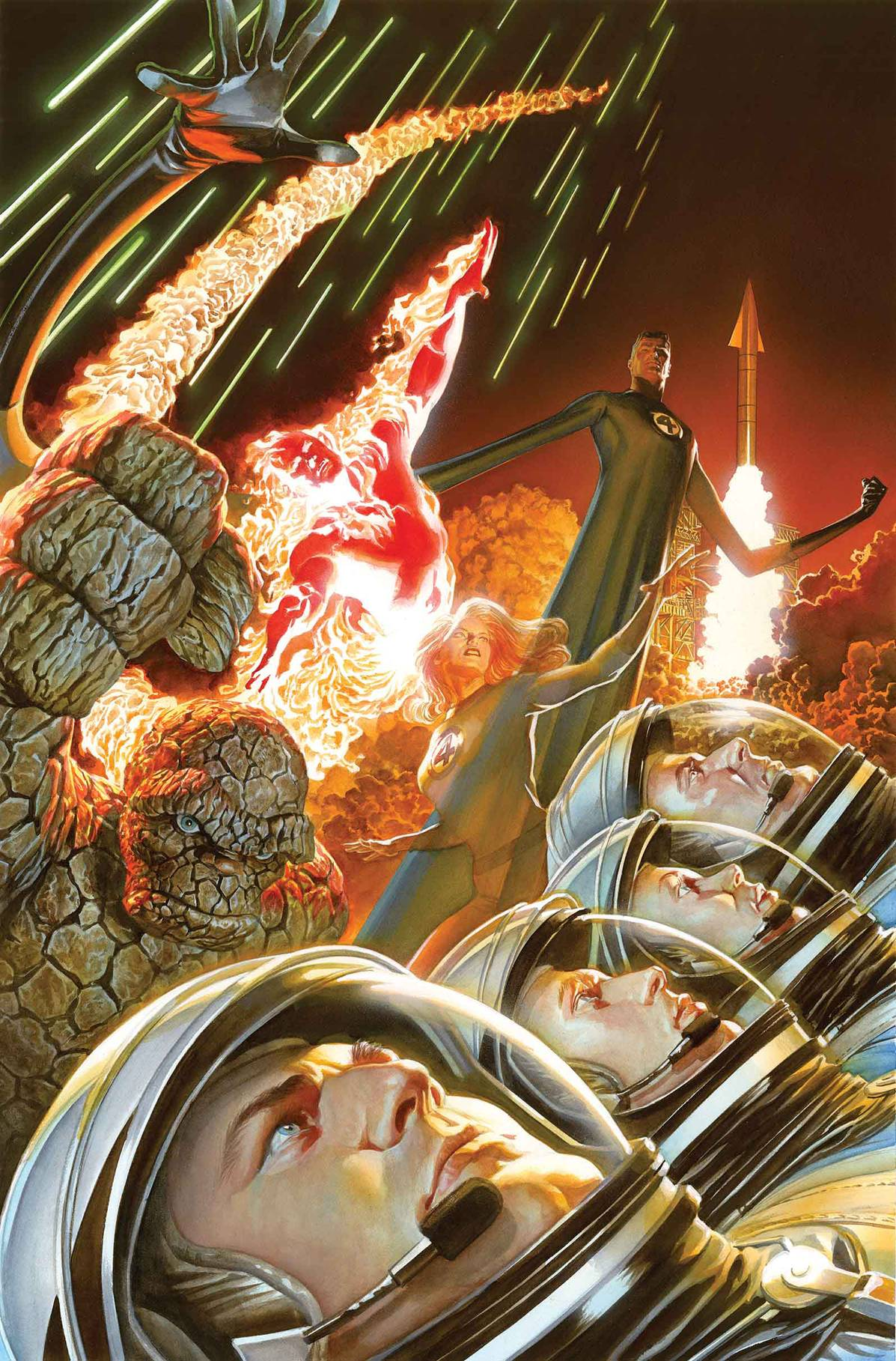 Marvel Fantastic Four Alex Ross Poster