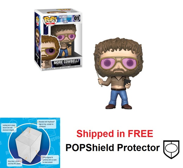 Funko POP SNL More Cowbell Figure - #01