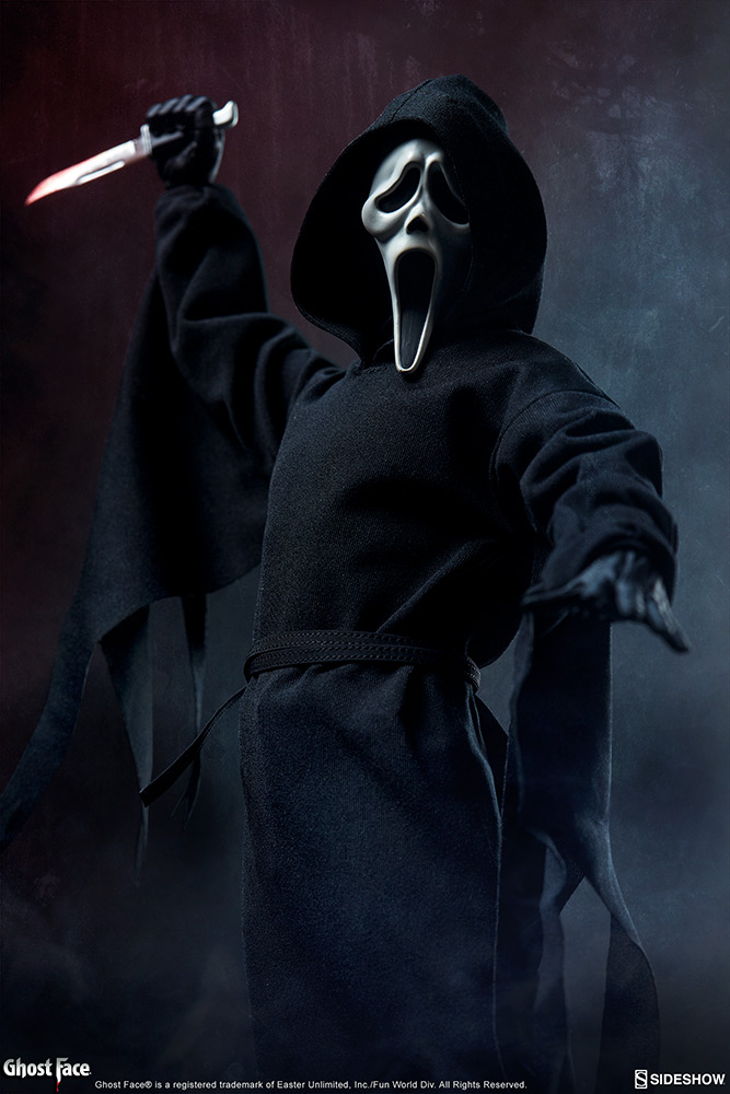 Pre-Order Sideshow Ghost Face Scream Sixth Scale Figure