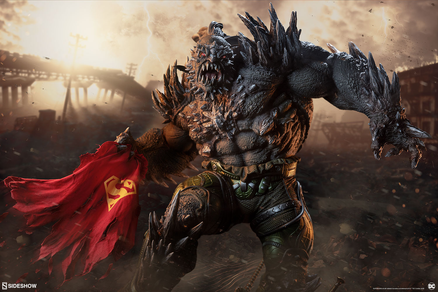 Pre-Order Sideshow DC Comics Doomsday Maquette