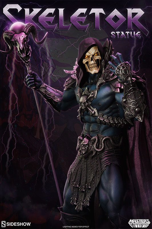 Pre-Order Sideshow Masters of the Universe Skeletor Statue