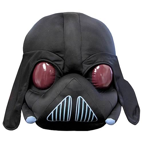 "Commonwealth Star Wars Angry Birds Darth Vader 12"" Plush"
