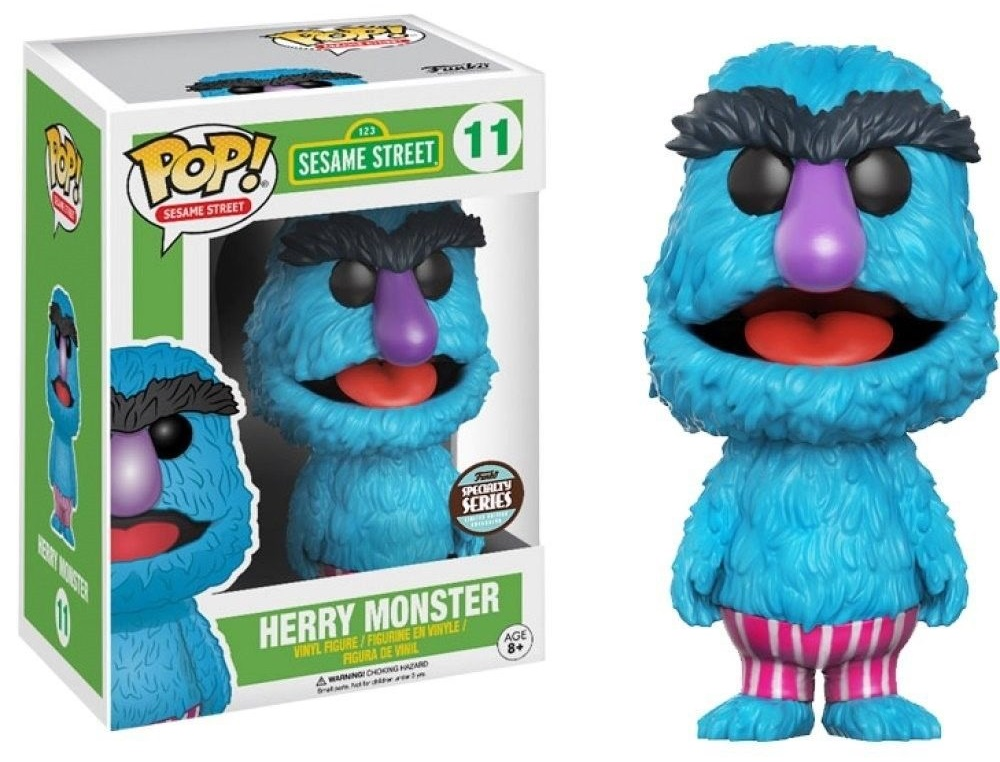 Funko POP Sesame Street Herry Monster Specialy Series Figure #11